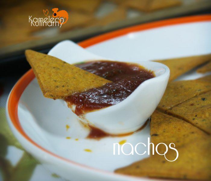 NACHOS czyli kukurydziane chipsy
