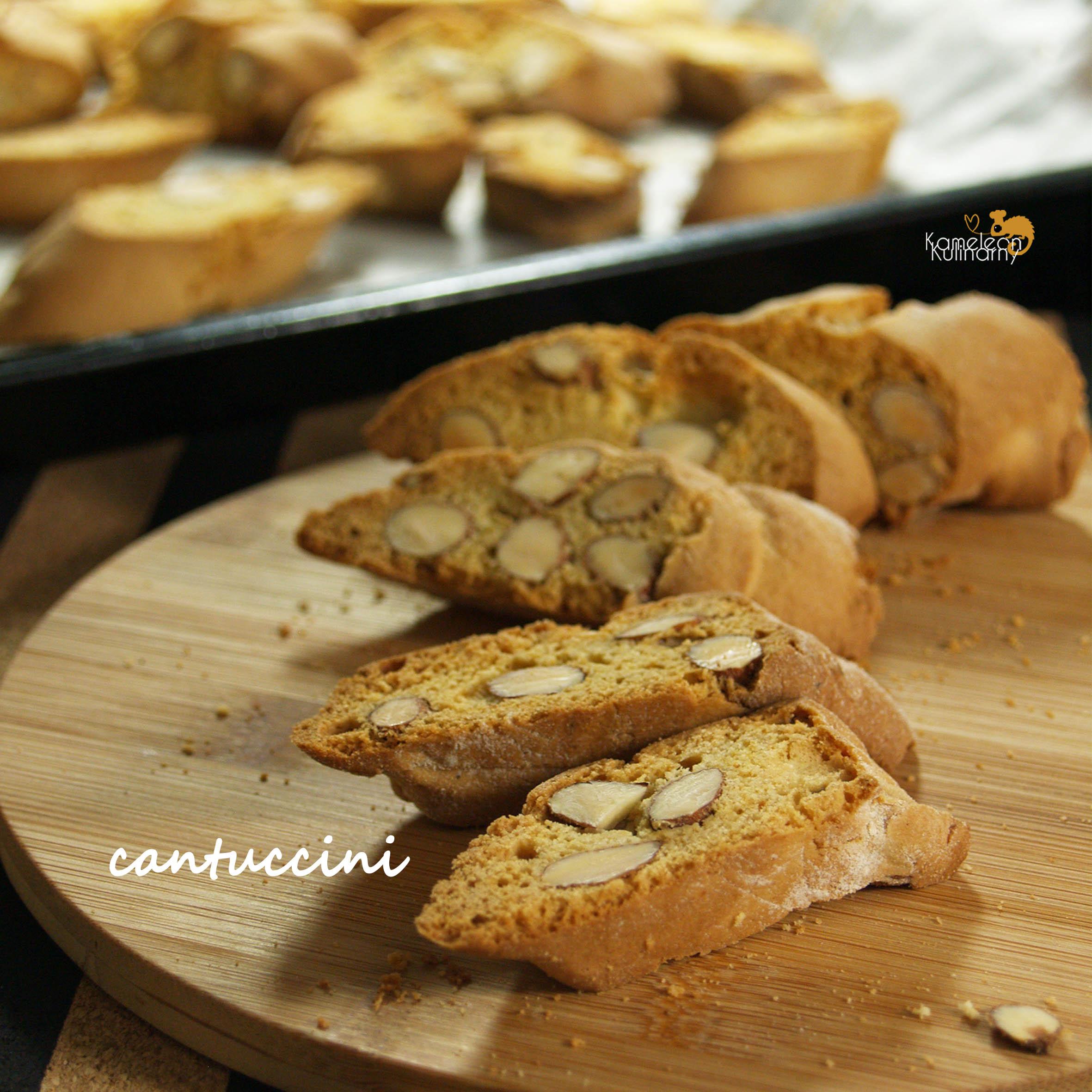 CANTUCCINI podwójnie pieczone ciasteczka
