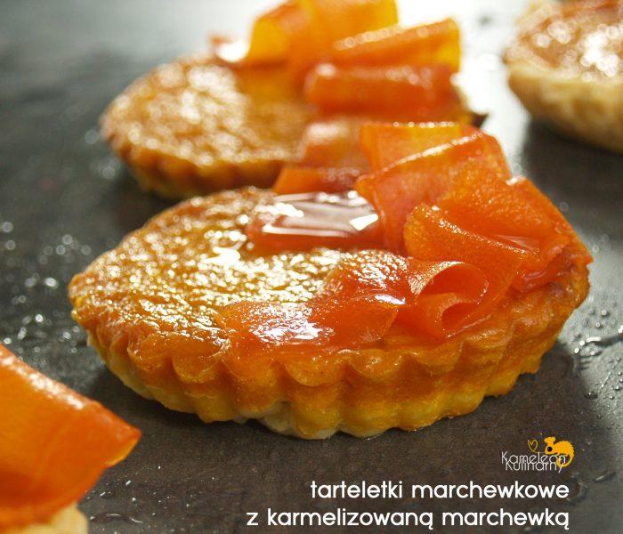 TARTELETKI z karmelizowaną marchewką