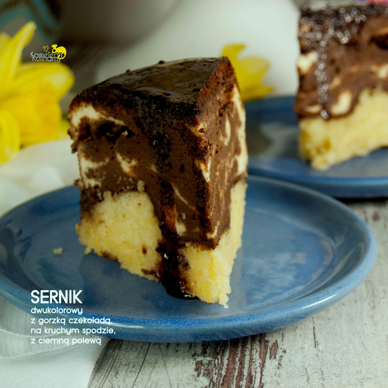 SERNIK DWUKOLOROWY z gorzką czekoladą